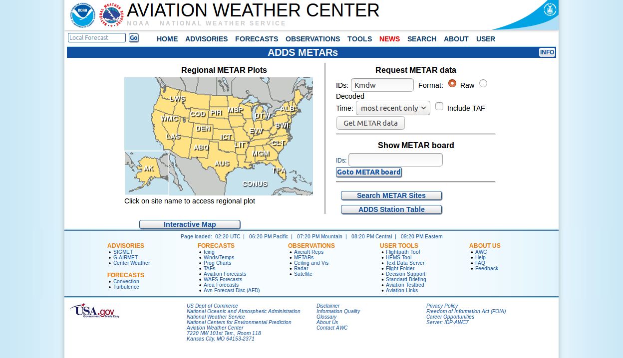 Screenshot-2018-2-1 AWC - ADDS METARs